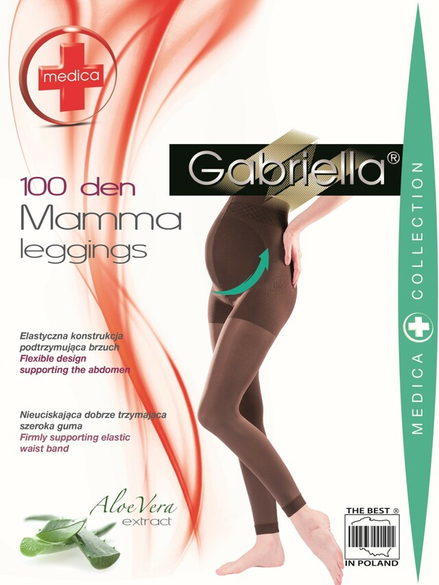 Punčochové kalhoty Mamma 174 Medica 100 Den - Gabriella