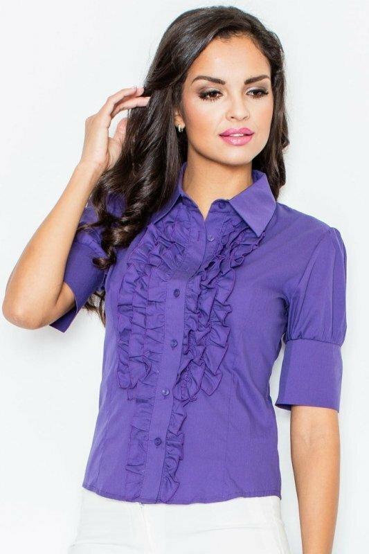 Figl dámská košile M025 - 3XL - fialová