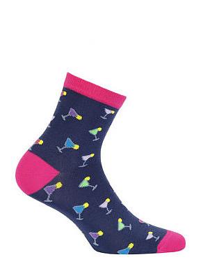 Dámské ponožky Wola Perfect Woman W84.01P Casual - 36-38 - milka