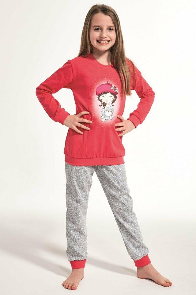 Dívčí pyžamo 594/108 Kids girl - 86/92 - růžová