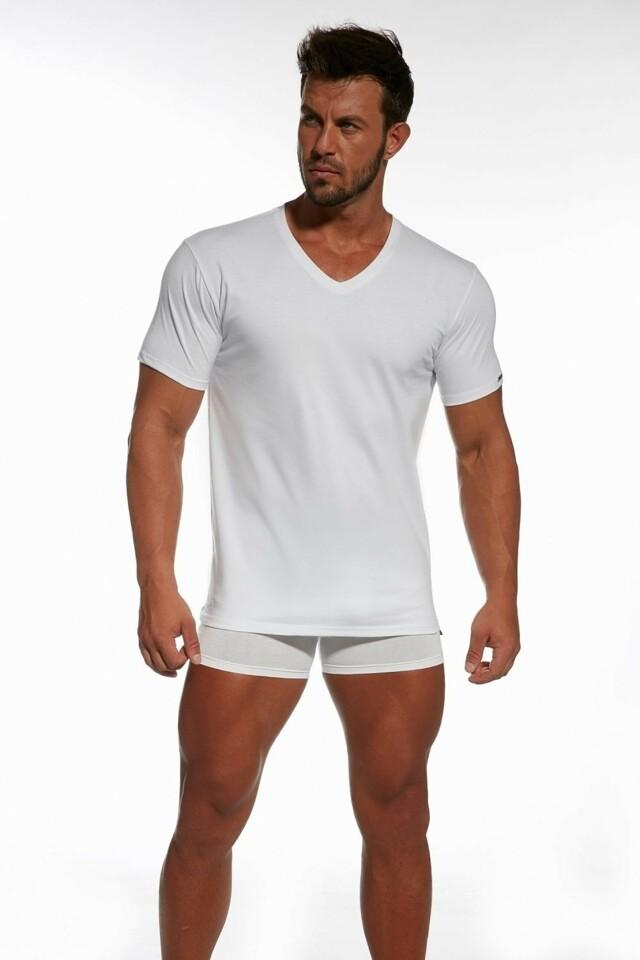 Pánské tričko Authentic 201 new white