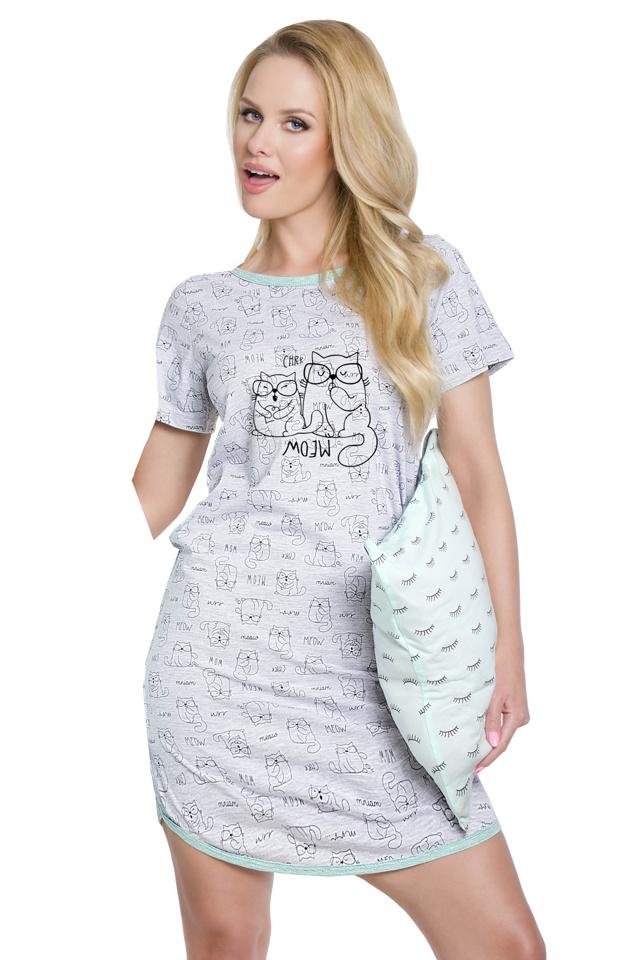 Dámská noční košile Molly šedá - M