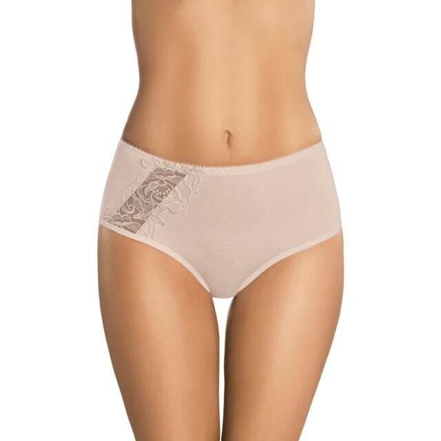 Dámské kalhotky 068 beige - XL - béžová