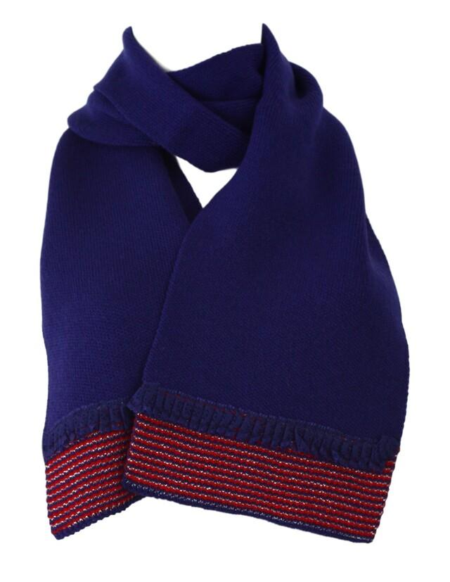 Dámská šála KA-AUR - Kamea - uni - granátová-fialová
