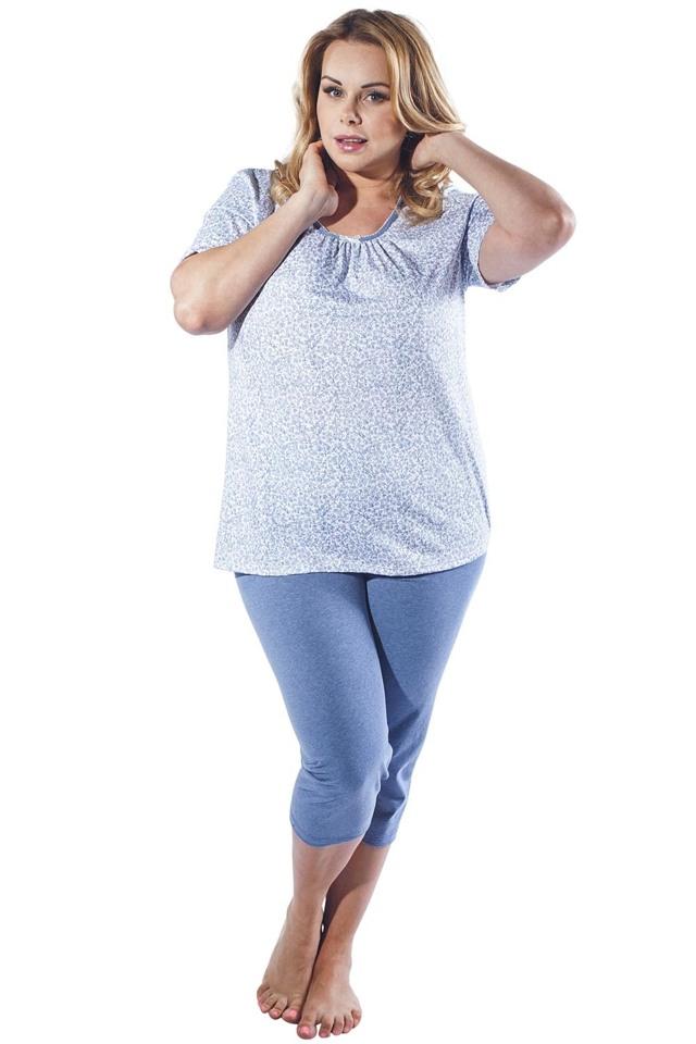 Dámské pyžamo Italian Fashion Halina - M - modrá