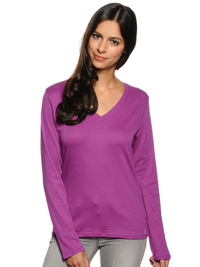 Dámské triko D1641E - fialová - Calvin Klein - S - fialová