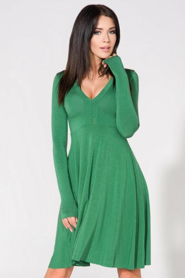 Denní šaty model T146/6 Tessita - 40 - zelená