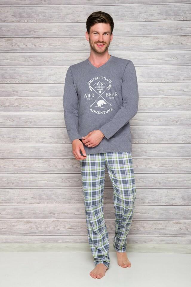 Pánské pyžamo 2130 melange