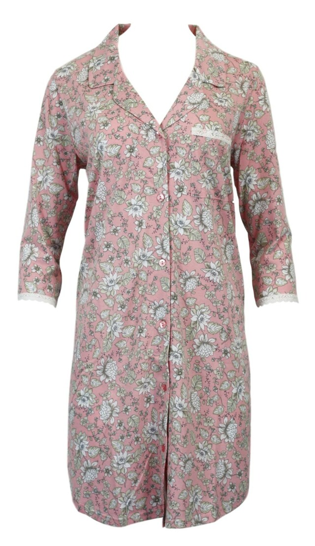 Dámská noční košile 6025 - Vamp - L - růžová