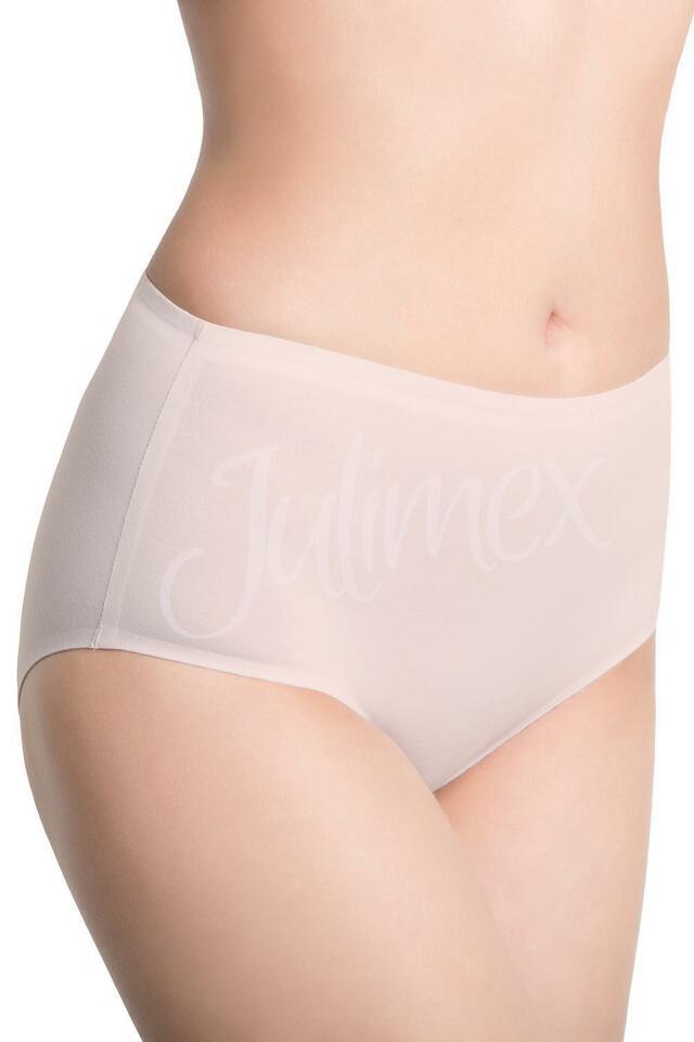Klasické kalhotky Julimex Lingerie Midi Bavlněné - M - černá