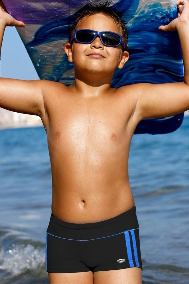 Chlapecké plavky Jirka CB4 - Lorin - 140 - černá