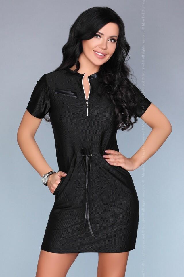 Dámské šaty model P30173 - Merribel - L - černá