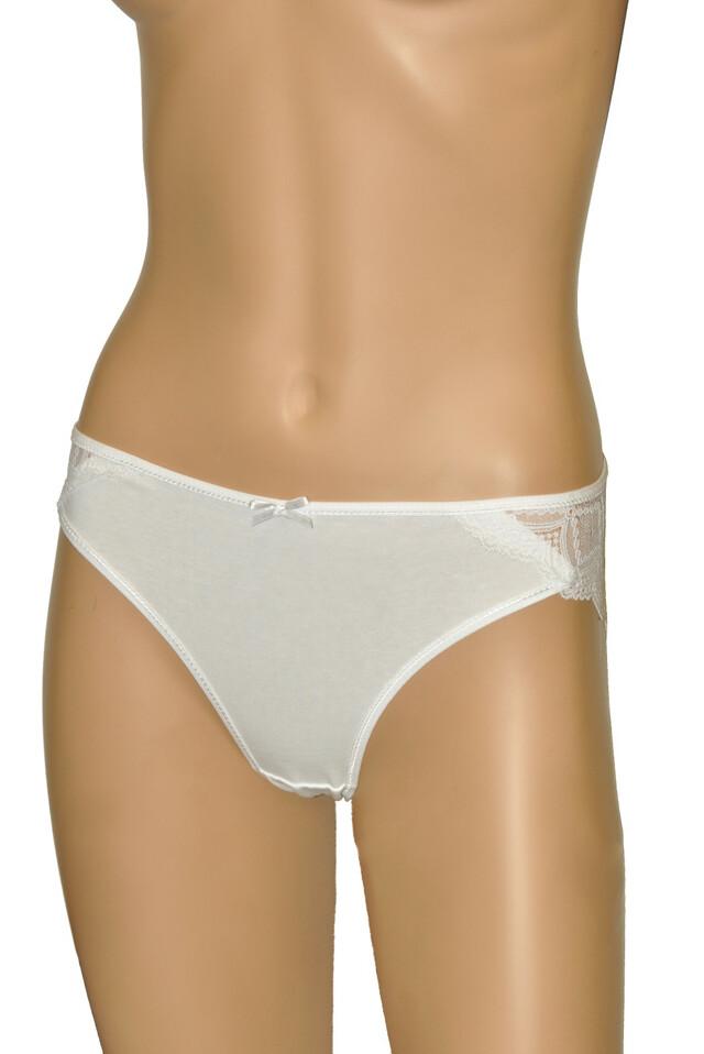 Klasické dámské kalhotky Donella 217143C A'2 - M - bílá