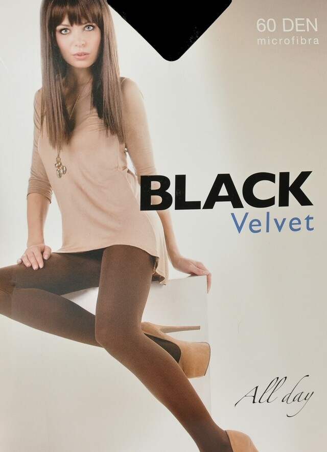 Dámské punčochové kalhoty Egeo Black Velvet 60 den 2-4 - 3-M - odstín béžové
