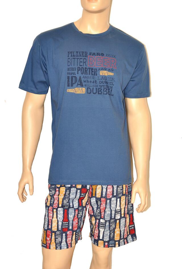 Pánské pyžamo Cornette 326/64 Beer