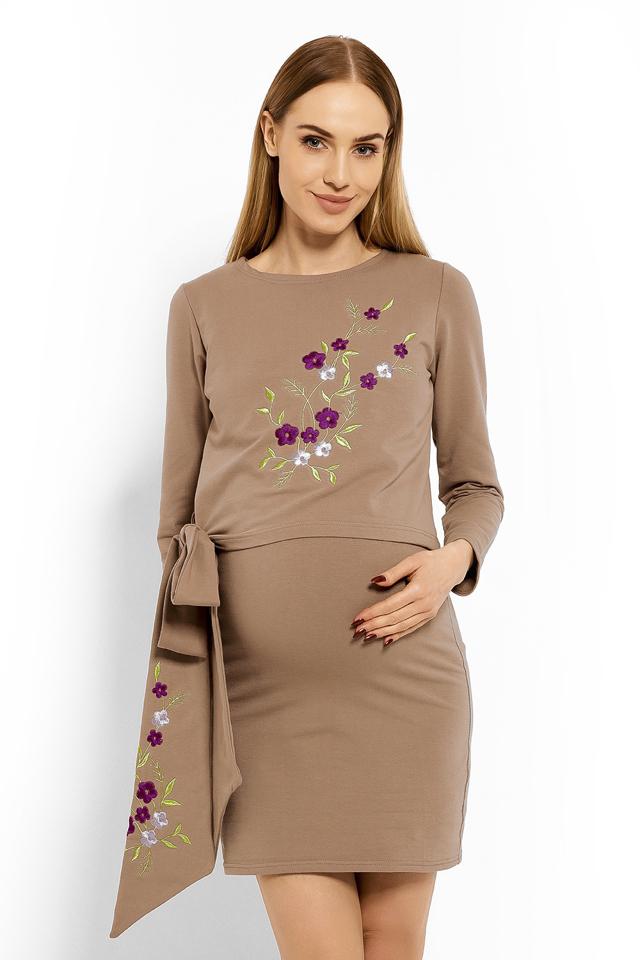 ba7f94536db7 Těhotenské šaty model 113210 PeeKaBoo
