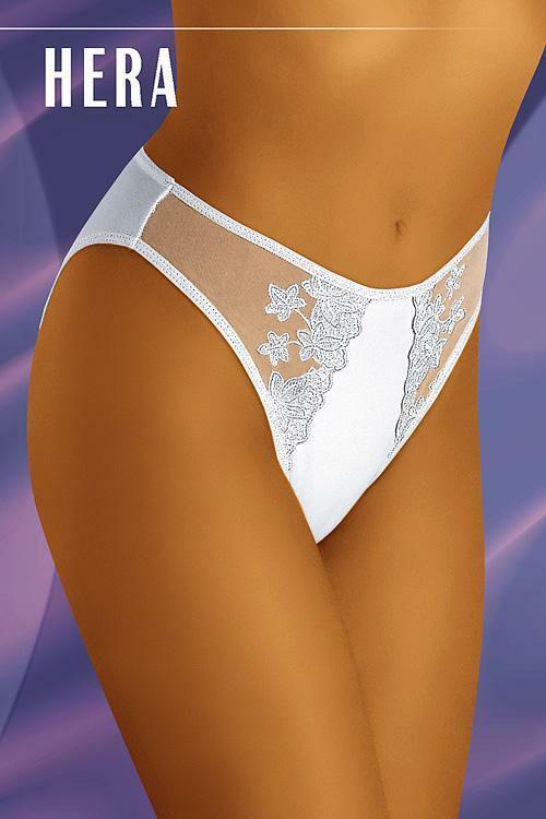 Dámské kalhotky Hera white - S - bílá