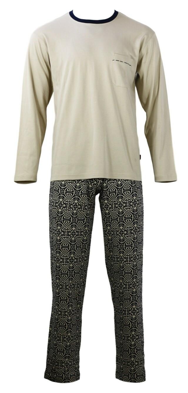 Pánské  pyžamo s dlouhým rukávem TASIM - Favab