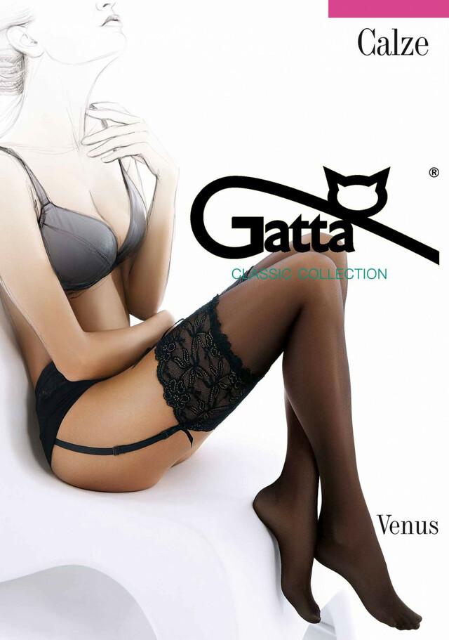 Punčochy Gatta |Venus lycra 20 den - 3-4 - béžová/odstín béžové
