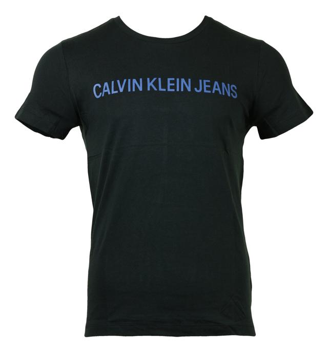 Pánské tričko OU57 tmavě modrá - Calvin Klein