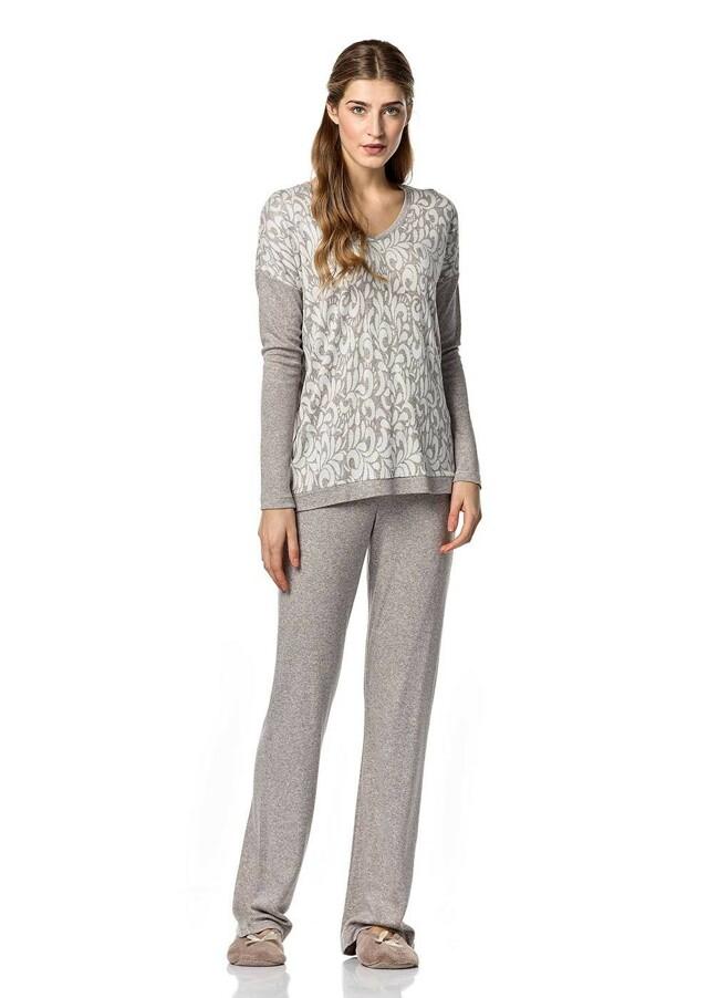 Dámské pyžamo 10-4833 - Vamp - S - beige