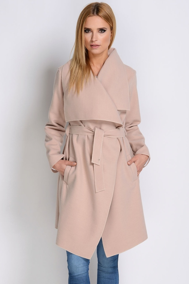 Dámský kabát/plášť Avaro PA-05 - UNI - černá