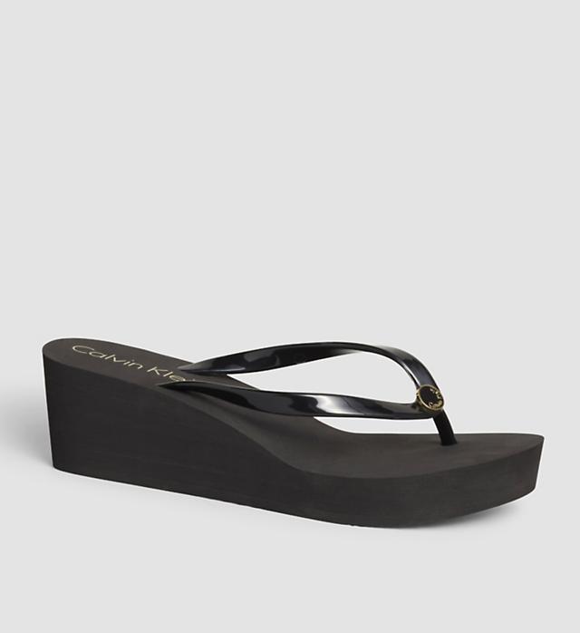 Dámská plážová obuv KWOKWOOO69 - Calvin Klein