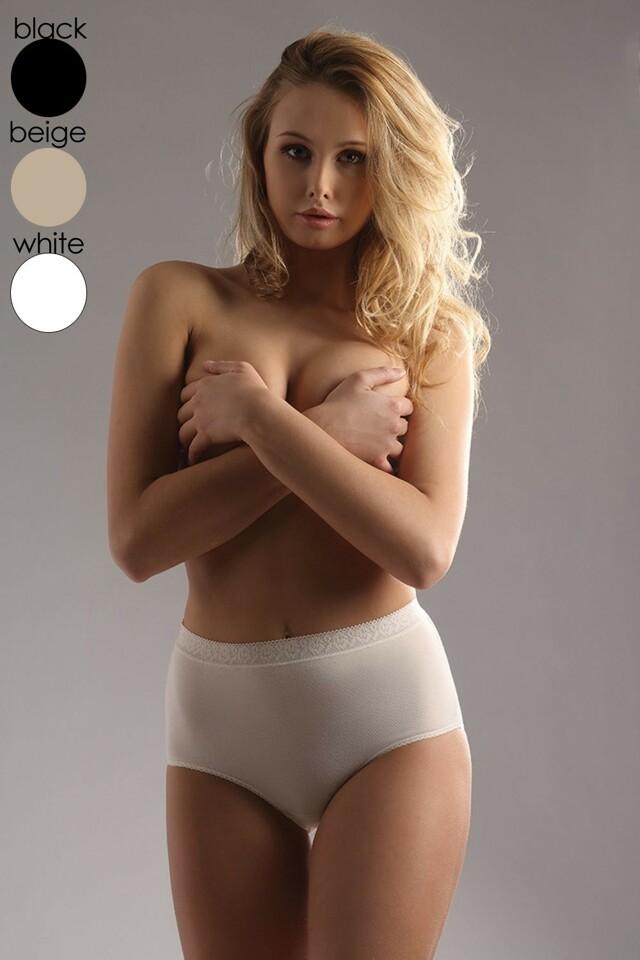 Dámské kalhotky Fiore maxi beige - XL - béžová
