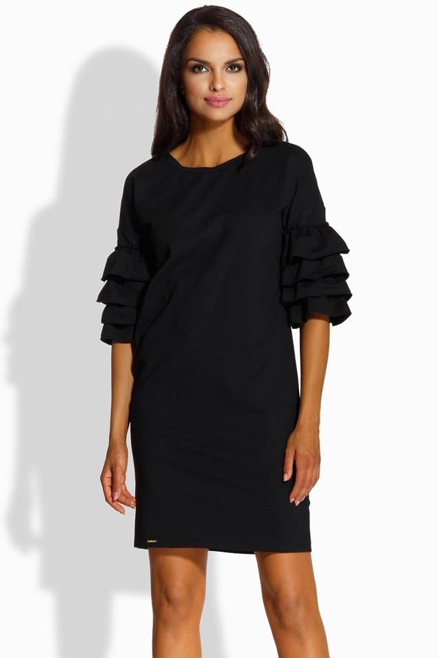 Dámské šaty Lemoniade L229 - S - černá