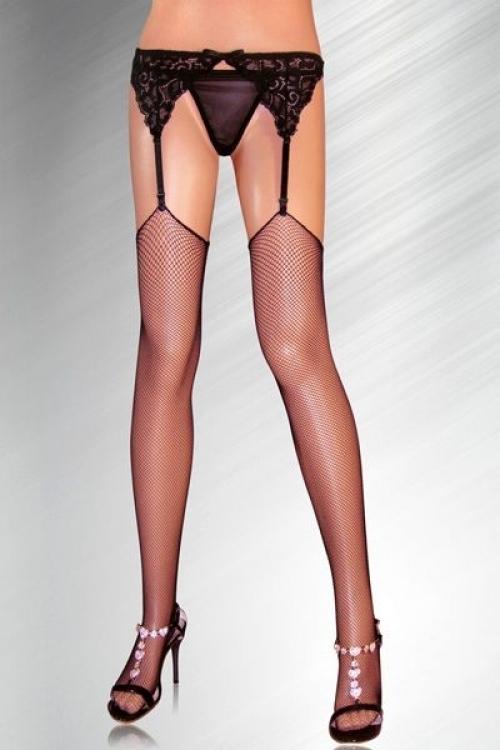 Dámské punčochy SLH-21152 - S/L - černá