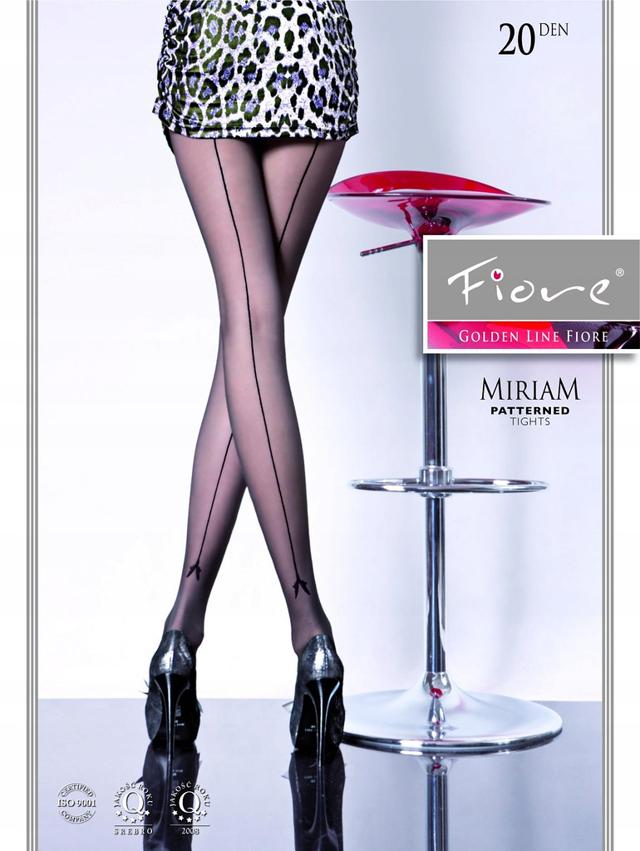 Dámské punčochové kalhoty Fiore Miriam G 5093 20 den - 4-L - černá