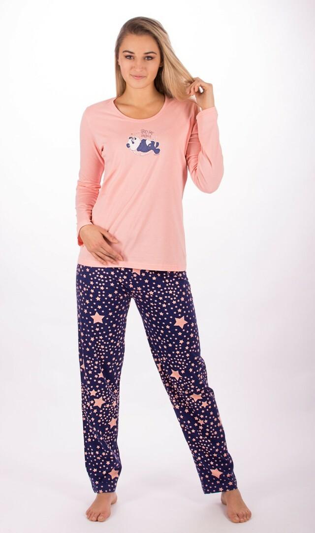 Dámské pyžamo Panda a hvězdy 2149 - Vienetta