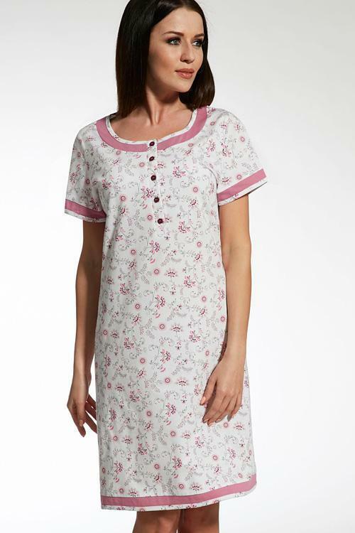 Noční košilka Cana 669 - S - bílá