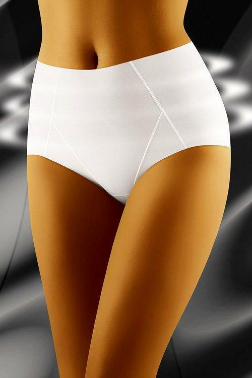 Stahovací kalhotky Superia white - M - bílá