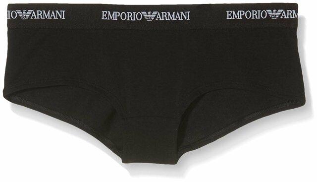 Kalhotky 2pcs 163263 CC317 07320 černá - Emporio Armani