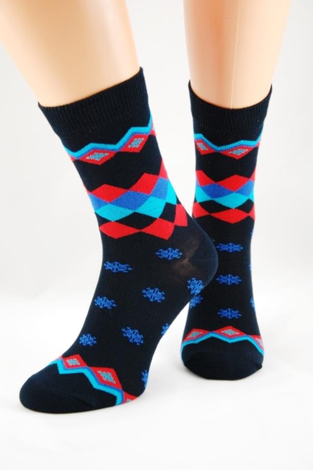 Dámské bambusové ponožky s hvězdičkami 4 - 38-41