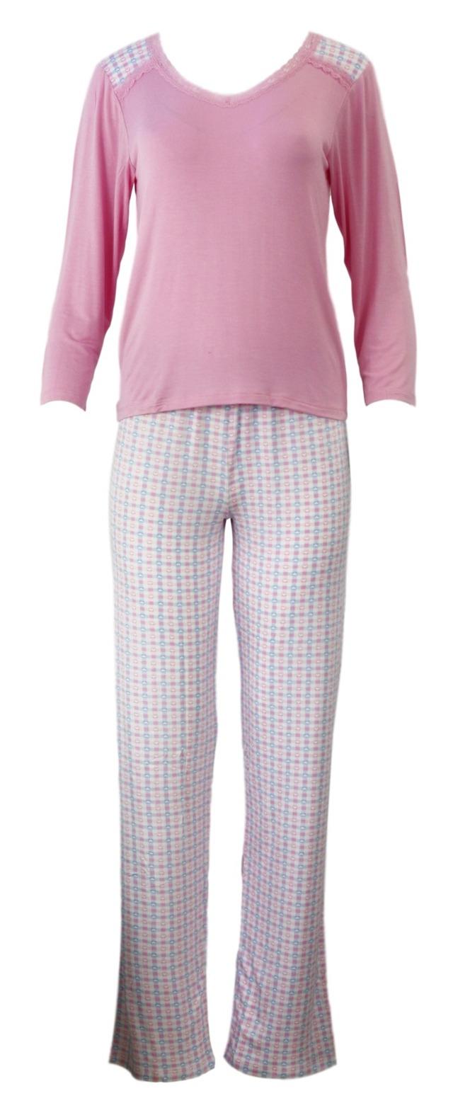 Dámské pyžamo 784 YPJ - Cocoon Secret - XL - růžová