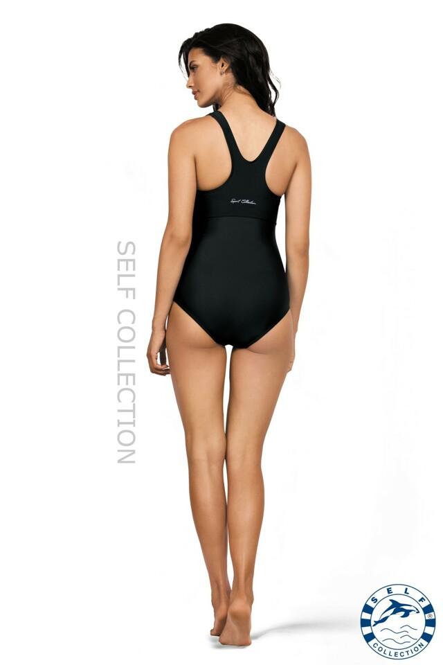 Jednodílné plavky S41 - Self - XL - černá
