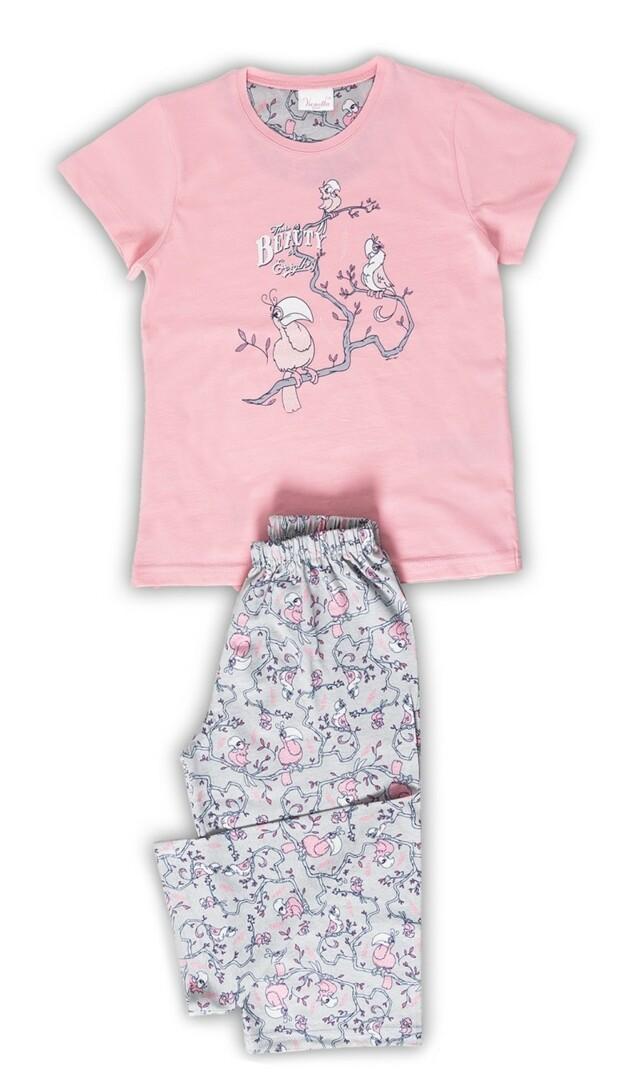 Dětské pyžamo kapri Papoušci