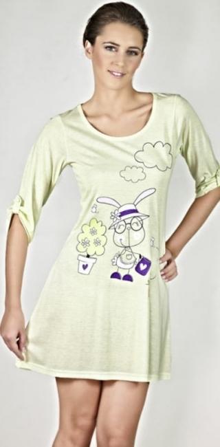 Noční košile 9296 - Vamp - 3XL - zelená