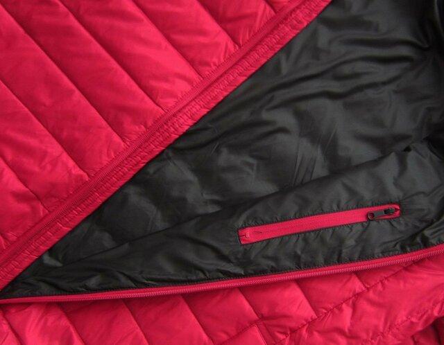 dc067b036 Červená pánská bunda s přírodní vycpávkou (5023)(848243) - 2