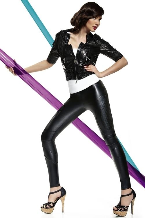 Legíny Roxana - Bas Bleu - M - černá
