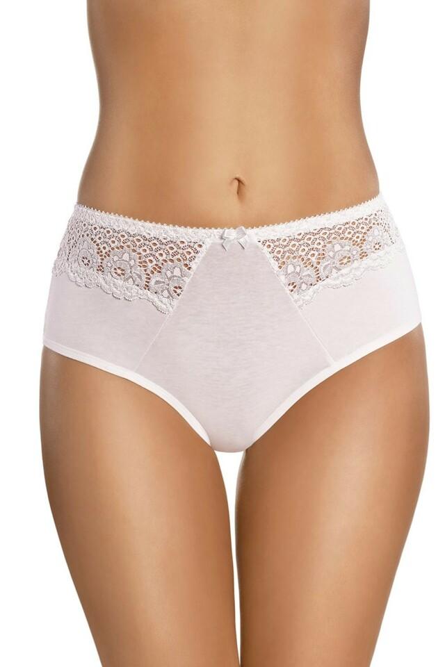 Dámské kalhotky 063 white - XXL - bílá