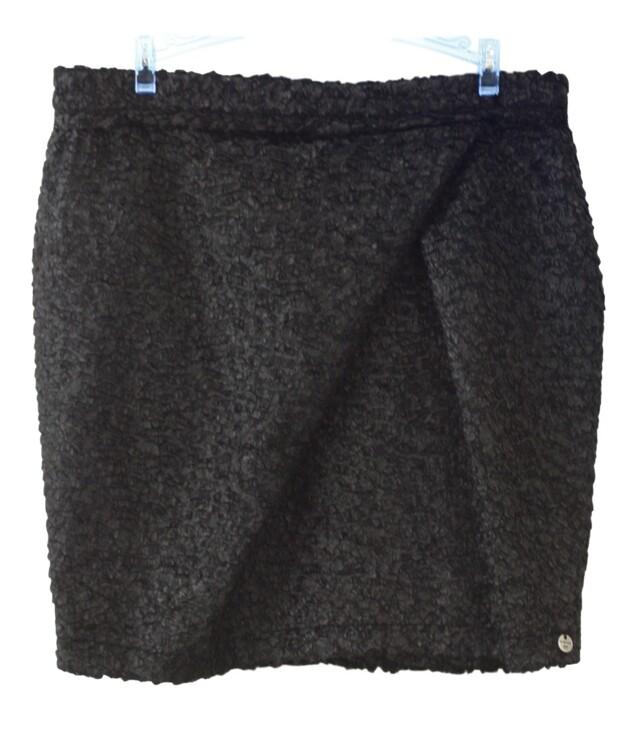 Dámská sukně 23Q690 - Rich Royal - L - černá