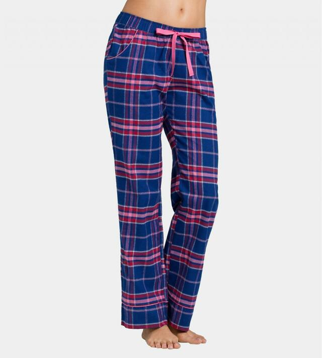 Dámské pyžamové kalhoty Mix & Match AW16 Trousers Flannel - Triumph - 40 - klenot (00YJ)