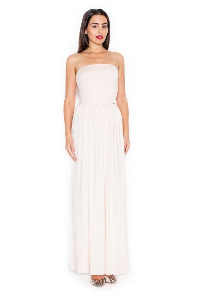Dámské šaty K252 pink - XL - růžová