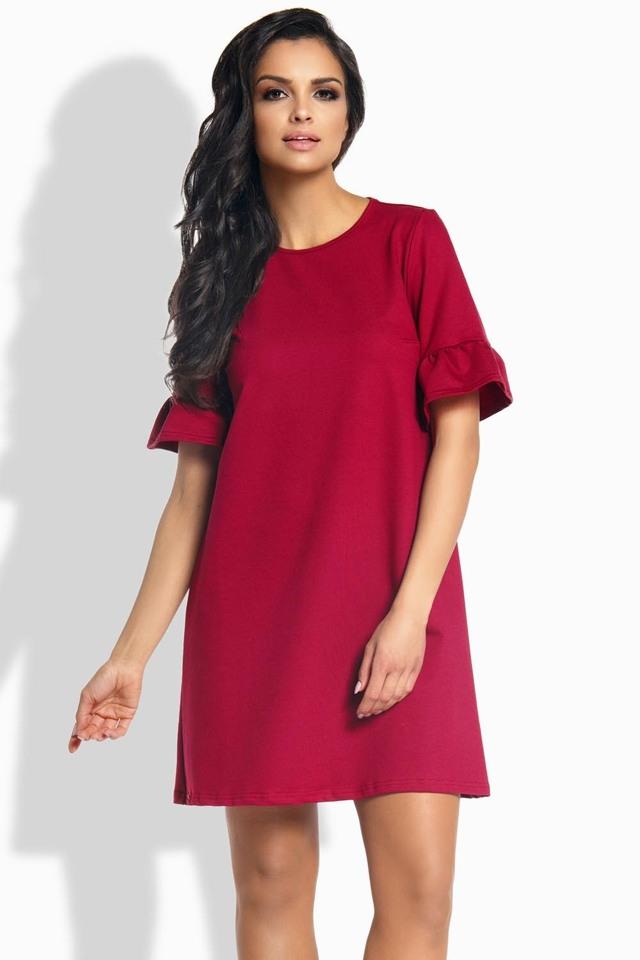 Dámské šaty Lemoniade L188 - S - červená