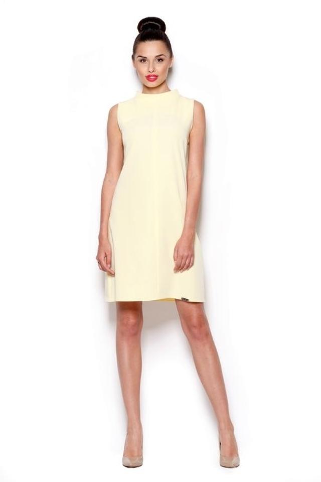 Dámské šaty M299 yellow - L - žlutá
