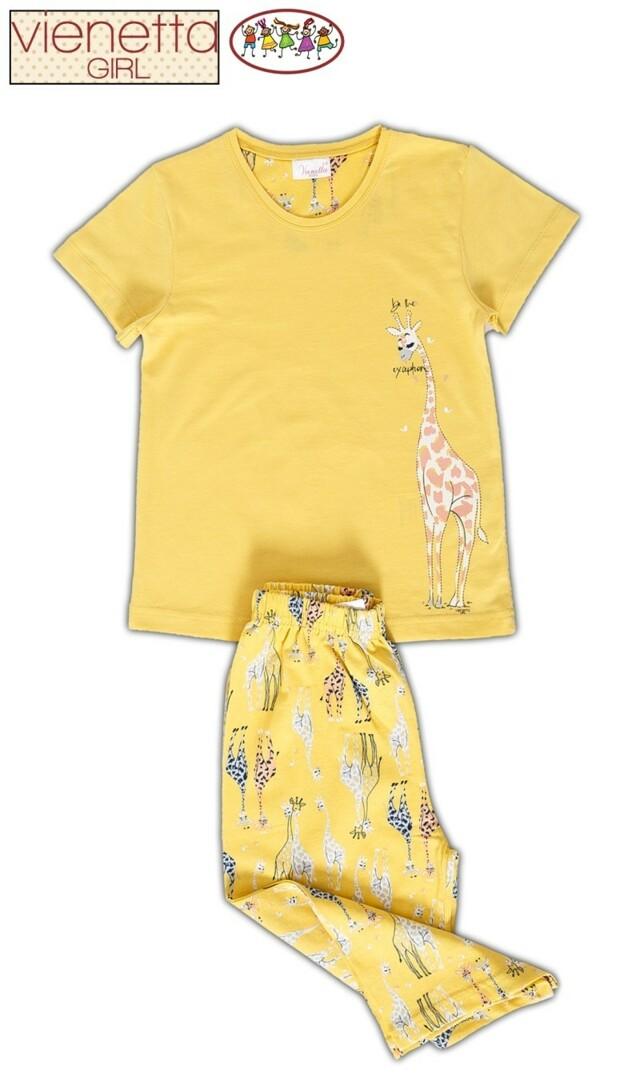 Dětské pyžamo kapri Žirafa
