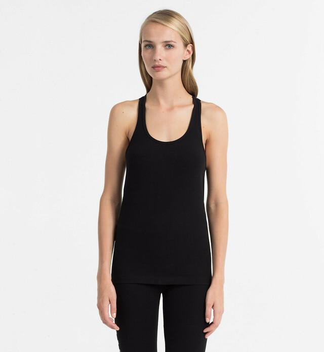 Dámské tílko QS5564E-001 černá - Calvin Klein